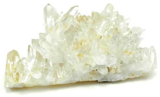 Bergkristall, kluster i AA-kvalitet