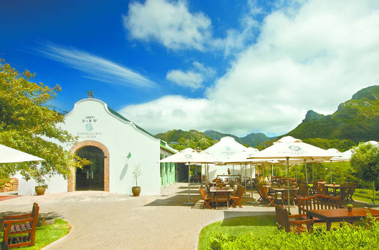 Constantia Glen Tasting Room has spectacular views..