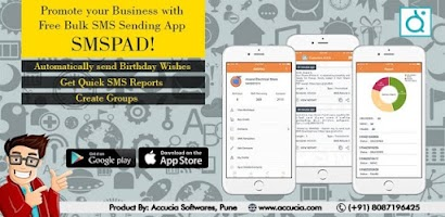 SMSPAD - #1 Bulk SMS App for Indian Businesses - Free