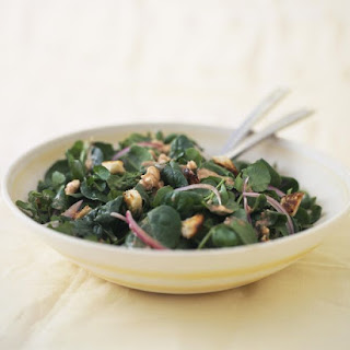 Warm Spinach Salad with Hot Bacon Dressing