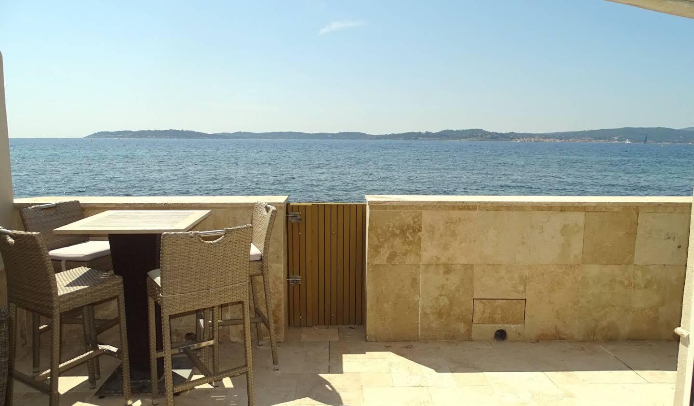 Maison en bord de mer avec terrasse Sainte-Maxime