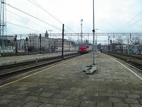Photo: Legnica: SU46-011 podjeżdża do składu EC240 relacji Kraków - Hamburg