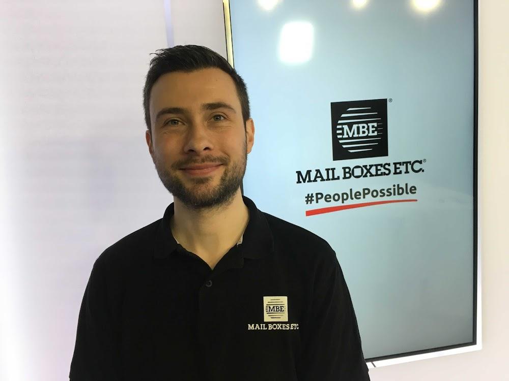 Mathieu, Franchisé Centre MBE Montrouge