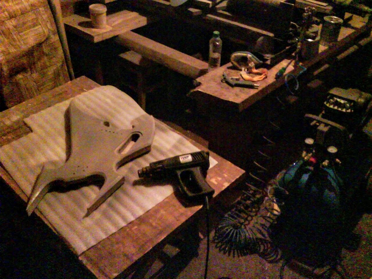 Фарбування компрессором
