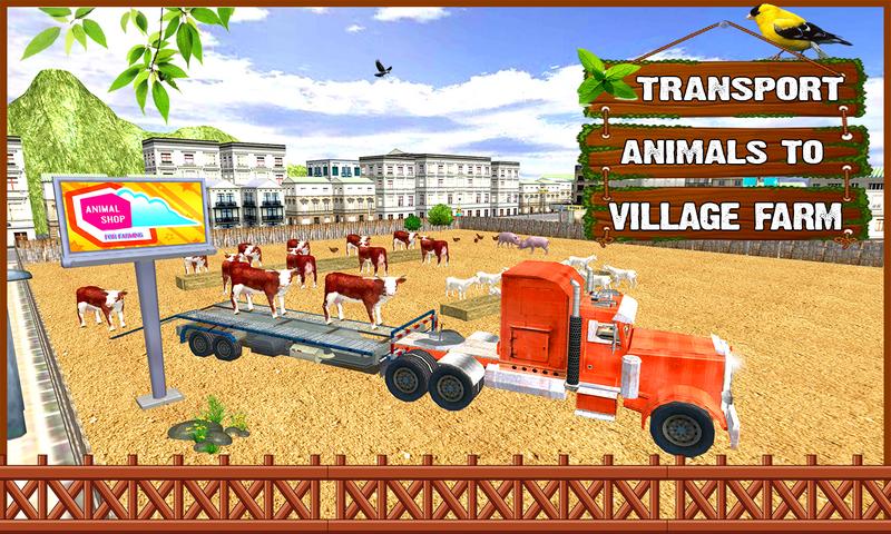 android Farm Construction Simulator Screenshot 3