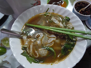 Photo: Pho in Phnom Penh