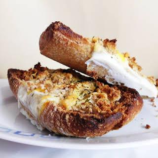 Breakfast Egg Boats.