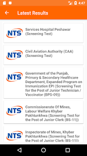 NTS Notifier - náhled