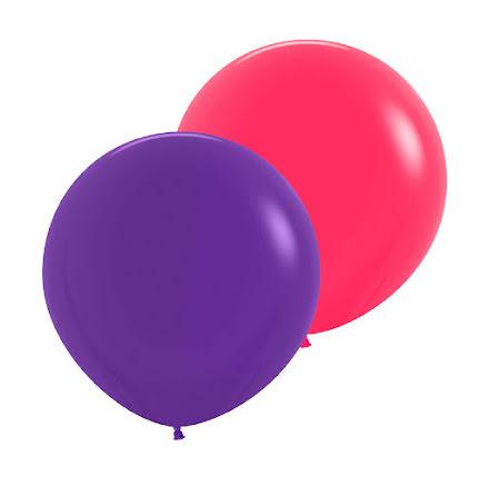 Jätteballonger, 50 cm 2 st