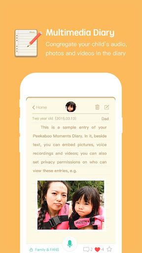 Peekaboo Moments: Baby Journal screenshot 3