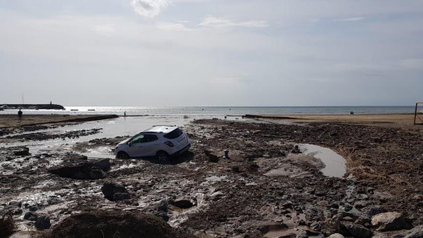 Imagen de las riadas del pasado 13 de septiembre en Cabo de Gata.