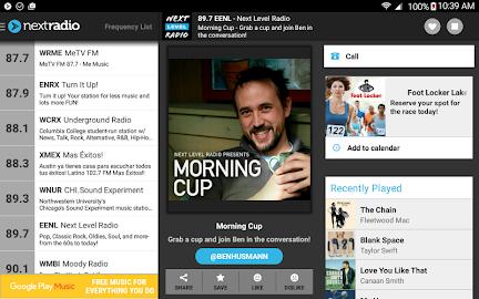 NextRadio - Free Live FM Radio Screenshot 14