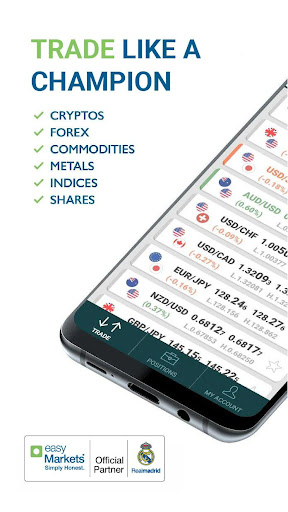 easyMarkets:  Trade Forex, Bitcoin, Oil and Shares 1.20.11 Screenshots 1