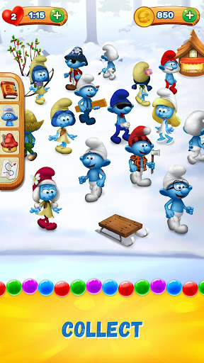 Smurfs Bubble Shooter Story for PC