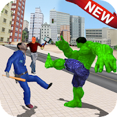 Monster Superhero Street Fighters
