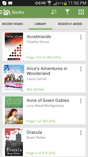 Aldiko Book Reader screenshot 2