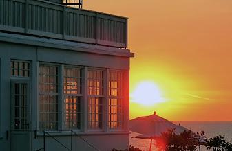 Photo: Helenekilde i solnedgang, Tisvildeleje
