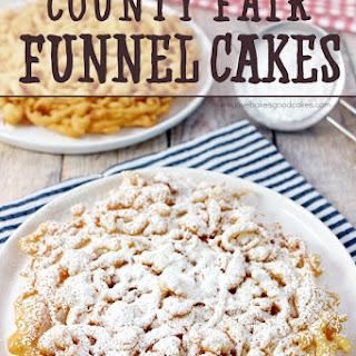 County Fair Funnel Cakes.