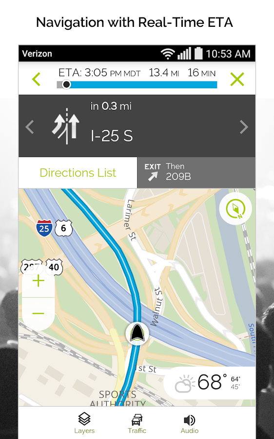 MapQuest GPS Navigation & Maps- screenshot