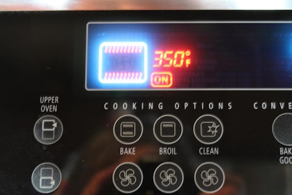 Preheat oven to 350 degrees F.