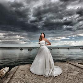 by Ilias Zaxaroplastis - Wedding Bride