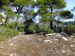 Photo: Planiol, on localitzem el mirador de l'Esquena de s'Ermita