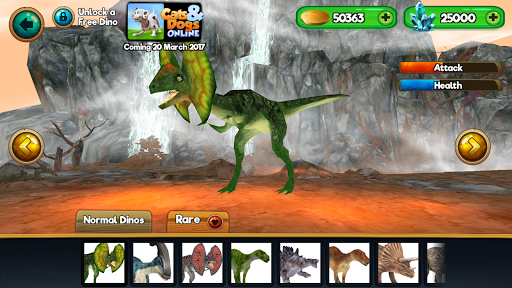 Dino World Online - Hunters 3D  screenshots 23