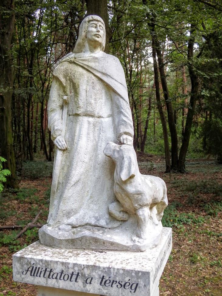 Horvátzsidány - Peruska Mária kápolna és védőszentek parkja
