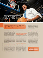 Photo: Advertorial shot for Sports Illustrated Magazine. Chris Duhon of the Orlando Magic at the Amway Center in downtown Orlando.