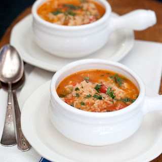 Spanish Rice and Chicken Soup