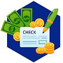 Borrow money loan guide! payday loans credit score icon