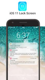OS 11 Locker - Keypad Lock Screen (Phone 8 Style) Screenshot