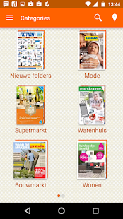 Alle Folders en aanbiedingen.- screenshot thumbnail