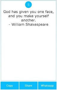 101 Great Saying by Shakespear screenshot 11