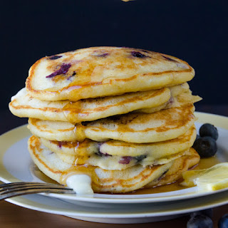 Blueberry Lemon Pancakes