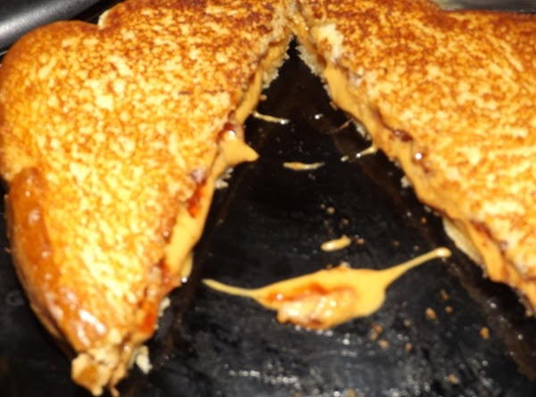 Grilled Peanut Butter And Jelly Sandwich Recipe