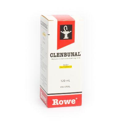 Clenbuterol Clenbunal 0,005 mg/5mL Jarabe Pediátrico x 120 mL Rowe 0,005 mg/5mL Jarabe Pediátrico x 120 mL