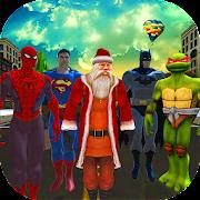 Game Santa Transform Superhero - Subway Xmas Runner APK for Windows Phone