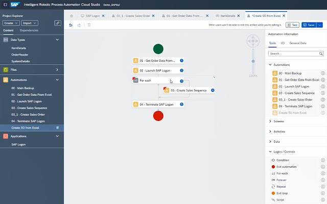 SAP Intelligent RPA Extension