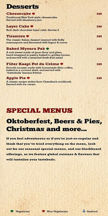 Toit Brewery - Taproom & Kitchen menu 7