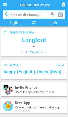 Collins Pocket Irish Dictionar - screenshot