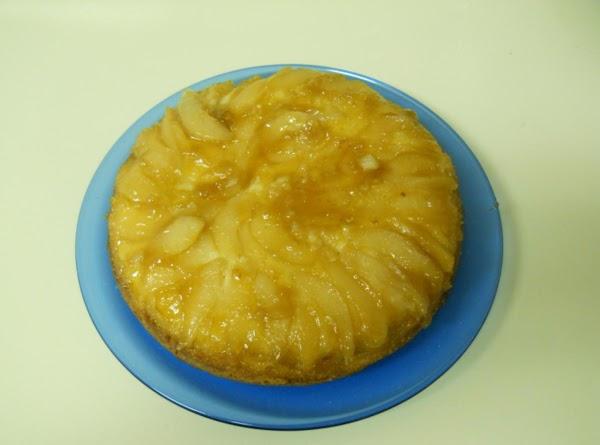 Pear Upside Down Cake Recipe
