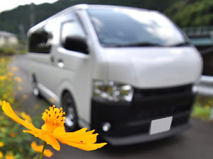 ハイエースバン TRH200V SUPER GL 2018年式のカスタム事例画像 k.i.j@黒バンパー愛好会さんの2018年09月18日10:19の投稿