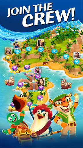 Pirate Puzzle Blast - Match 3 Adventure apkdebit screenshots 1