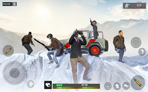 Screenshot for Winter survival Battle Royale in United States Play Store