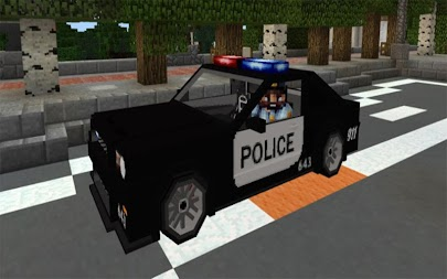 Police Car Addon MCPE APK screenshot thumbnail 6