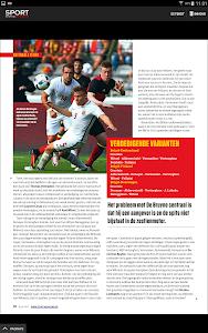 Sport/Voetbalmagazine HD screenshot 12