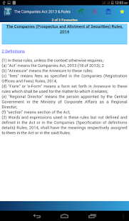 India - Companies Act 2013 & Rules- screenshot thumbnail
