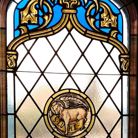 Saint Luke by Denise DuBos - Buildings & Architecture Places of Worship ( historic, gothic style, church, stained glass, saint luke )