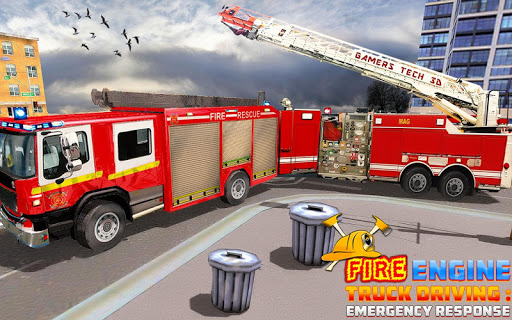 Fire Engine Truck Driving : Emergency Response 1.0.1 screenshots 11